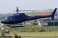 G-CIWO (GH@BHD) Tags: gciwo eurocopter aerospatiale airbushelicopters as350 squirrel ecureuil rjhelicopters newtownardsairfield newtownards ulsterflyingclub helicopter aircraft aviation chopper rotor