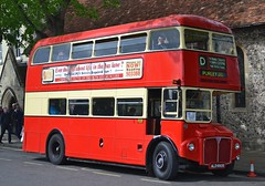 ALD 990B (tubemad) Tags: ald990b aec routemaster park royal winchester bus rally preserved