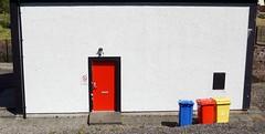 2019.05838a Primary Colours at Strachur Fire Station (jddorren08) Tags: scotland argyll strachur cowal strachurfirestation strachurcommunityfirestation sonyalphaa6000 sigma30mmlens jddorren daviddorren