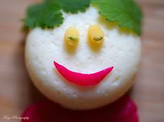 Say Cheese... and smile! :-) (Maria Godfrida) Tags: smileonsaturday saycheese cheese smile food closeup macro vegetables funny bokeh delicious babybel