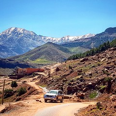 Road Asni Valley (D. [SansPretentionAucune] (•̪●)  ✪) Tags: asni asnivallée maroc marrakech morocco atlas atlasmountains
