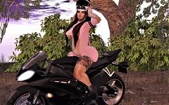 Destiny ~ Biker Babe (Destiny Mynx) Tags: imitation animosity posefair fundati whatnext botanical besom horntail addictedtoink twe12ve allurecouture elleboutique fameshed welovetoblog