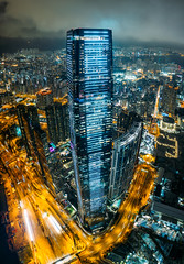 ICC Tower (MongkolChuewong) Tags: above aerial aerialview architecture asia asian blue building buildings business china city cityscape district downtown drone dusk evening flying harbor harbour hong hongkong icc ifc kong landmark landscape metropolis modern night office panorama peak peaks portrait scene sea sky skyline skyscraper sunrise sunset topview travel urban victoria victoriapeak view kowloon