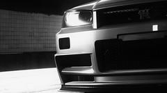 GT-R (nuvoIari) Tags: needforspeed nfs payback videogame car blue bw nissan skyline gtr nismo ztune