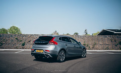 2015 Volvo V40 2.0 D2 R-Design (Rick Bruinsma) Tags: volvo v40 rdesign freja osmium grey 17