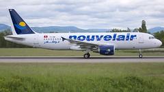 TS-INR (Breitling Jet Team) Tags: tsinr nouvelair tunisie airbus a320200 euroairport bsl mlh basel flughafen lfsb eap