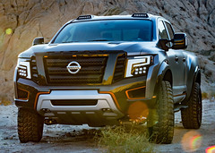 Nissan TITAN Warrior Concept (lovemenora345) Tags: nissan exterior location proto truck warrior