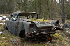 Opel Rekord (mariburg) Tags: marode alt old sonyalpha7ii sonyfe2470mmf4zaoss auto car opel opelrekord