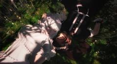 ♥ Ying To My Yang ♥ (RowanLeonhart) Tags: sisters lolita cute kawaii lolitagirls secondlife flowers halfofme photography