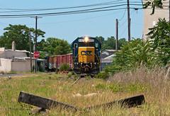 End of the Line (Erie Limited) Tags: conrail csao mi21 vinelandnj vinelandit csx emd gp402 train railfan railroad