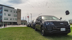 2019 Poice Day - Halton Region (NBKPhotography) Tags: opp ontario provincial police service halton oakville day burlington milton acton hills georgetown unmarked stealth undercover state trooper mto ministry transportation victoria crown nbkphotography nbkphoto nbkmediagroup hq tac unit mobile command mcu tactical rescue cmv commercial motor vehicle inspections dodge charger hemi v8 awd ford taurus interceptor utility fleet tahoe ppv ssv ram
