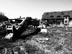 P4213399 (marcusgeue) Tags: olympus 1240 olympuspro zuiko schwarzweiss blackandwhite ruhrpott gladbeck schlägel abriss