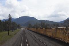 Oakridge, Oregon (imartin92) Tags: oakridge oregon rail railroad coaststarlight amtrak mountains cascades natroncutoff willamettenationalforest