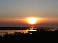 Flooded Marsh @ sunset 20.4.19 (ericy202) Tags: sunset 20419 marsh flooded wash estuary snettisham rspb