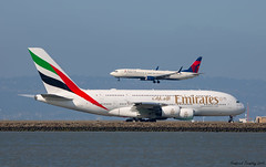 Emirates / Airbus A380-861 / A6-EUH / SFO (tremblayfrederick98) Tags: a380 emirates delta