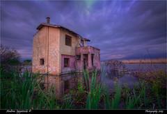 KALI YUGA (Andrea Ignjatovski ©) Tags: dojran macedonia old house hdr long exposure canon 6d 1635 f4 is nd 8 andrea ignjatovski андреа игњатовски дојран македонија езеро lake drama creepy abandoned location sunset cloud architecture