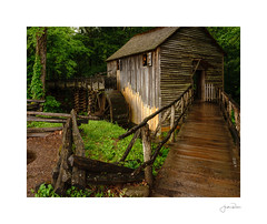 Cable Mill (jrobfoto.com) Tags: waterwheel cadescove raw springbreak twitter motd alpha millerlite tumblr 500px tennessee sony a7rii rain wet cablemill townsend unitedstatesofamerica