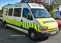 SJA Renault Minibus T371 PKR TR730 (policest1100) Tags: sja renault minibus t371 pkr tr730 st john ambulance