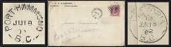 British Columbia / B.C. Postal History - 18 / 19 June 1902 - PORT HAMMOND, B.C. (split ring / broken circle cancel / postmark) to Victoria, B.C redirected to Vancouver, B.C. (Treasures from the Past) Tags: circulardatestamp postalwayoffice postmaster postoffice britishcolumbia postalhistory bc county splitring brokencircle splitcircle postmark cancel cancellation marking son mail letter stamp canada britishcolumbiapostalhistory canadapost hammond porthammond allazenby arthurlazenby