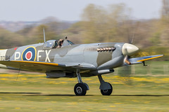 G-CGYJ/TD314 Supermarine Spitfire MkIXe (amisbk196) Tags: airfield aircraft headcorn amis flickr 2019 unitedkingdom kent uk lashenden gcgyj td314 supermarine spitfire mkixe