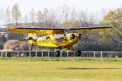 G-BPCF Piper J3 Cub (amisbk196) Tags: airfield aircraft headcorn amis flickr 2019 unitedkingdom kent uk lashenden gbpcf piper j3 cub