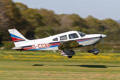 G-CCAV Piper PA-28-181 Cherokee Archer II (amisbk196) Tags: airfield aircraft headcorn amis flickr 2019 unitedkingdom kent uk lashenden gccav piper pa28181 cherokee archer ii
