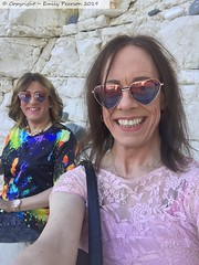 April 2019 - a day at the seaside (Girly Emily) Tags: crossdresser cd tv tvchix trans transvestite transsexual tgirl tgirls convincing feminine girly cute pretty sexy transgender boytogirl mtf maletofemale xdresser gurl glasses smile flipflops flamborough beach bay cliffs seaside sunshine
