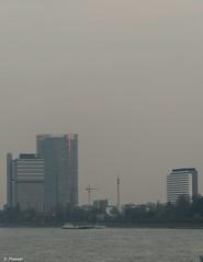 Bonn, UN-Gebäude, Post Tower, WCCB (stefanprassel) Tags: bonn deutschland europa orte rheinufer winter posttower un