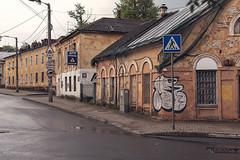 Kaluga. (Khuroshvili Ilya) Tags: kaluga center old streets outdoors graffiti nobody road facade architecture buildings