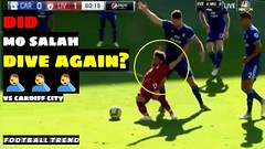 Fans Asscued Mo Salah DIVE against Cardiff City   Yet another DIVE from Salah ♂️♂️♂️ (triettan.tran) Tags: fans asscued mo salah dive against cardiff city   yet another from ♂️♂️♂️