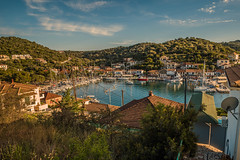 Island harbour..... (Dafydd Penguin) Tags: little harbour port harbor dock quay quayside island meganisi ionian greece view boats yachts yachting sailboat leica m10 21mm super elmar f34