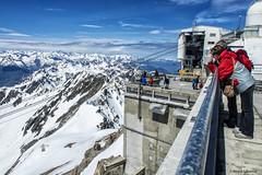 2772  Pic du Midi de Bigorre, Pirineo francés. (Ricard Gabarrús) Tags: nieve nubes mirador montaña cima picdumididebigorre ricardgabarrus olympus altura ricgaba