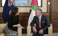 HM King-New Zealand -PM (3) (Royal Hashemite Court) Tags: jordan france newzealand countering terrorism prime minister jacinda ardern الأردن فرنسا نيوزيلندا الإرهاب محاربة رئيسة وزراء جاسيندا أرديرن
