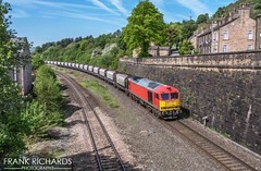 60010 | Chinley Green Lane | 15th May '19 (Frank Richards Photography) Tags: 60010 class60 class 60 db chinley green lane 6h02 wagons train freight high peak derbyshire dalew dale uk england diesel red locomotive nikon d7100 spring may 15th 2019