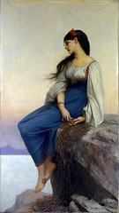 'Graziella' Jules-Joseph Lefebvre, 1878 (karadogansabri) Tags: julesjosephlefebvre painting art classicism 1900s france graziella 1878