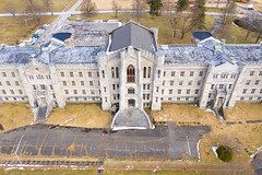 Mental Hospital (Duncan Rawlinson - Duncan.co) Tags: 1hku6fiaamqpqaq7k7vyu32xdnnf5bnngb aerial architecture dji duncanrawlinson duncanrawlinsonphoto duncanrawlinsonphotography duncanco fence mavicpro2 mentalhospital newyork photobyduncanrawlinson quadcopter scary shotwithadjimavicpro2 asylum building cage care chainlinkedfence clinic crazy dark dementia derelict dread drone haunted health hospital httpsduncanco httpsduncancomentalhospital ill illness insanity institution isolation jail madhouse madness medical medicine mental mentalhealth nuthouse parkinglot patient psychiatric psycho psychotherapy security spooky therapy treatment binghamton unitedstatesofamerica