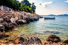 Leftos Gyalos, Alonnisos (Kevin R Thornton) Tags: d90 beach nikon leftosgyalos alonissos sea landscape northernsporades travel greece alonnisos coast sporades alonnissos decentralizedadministrationof