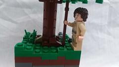 LEGO - The Alchemist (~Choco15) Tags: lego moc alchemist the mocpages book lit build legos bricks 8x8 tree rockwork texture minifigure leaves treasure