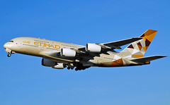 ETIHAD A380 A6-APB (Infinity & Beyond Photography: Kev Cook) Tags: etihad a380 a6apb airlines airbus aircraft airplane airliner london heathrow airport lhr photos planes