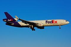 N586FE (FedEx) (Steelhead 2010) Tags: fedex federalexpress mcdonnelldouglas md11 md11f cargo freighter yyz nreg n586fe