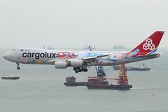 CV B748F LX-VCM @ CV4507 (EddieWongF14) Tags: cargolux boeing boeing747 boeing7478 boeing7478f boeing7478r7f b747 b748 b748f 747 748 748f 7478 7478f 7478r7f lxvcm
