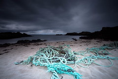 Abandoned rope before the storm (PeterYoung1.) Tags: atmospheric beautiful blue clouds highlights landscape peteryoung1 rocks scenic scotland seascape scottish storm uk