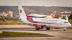 Boeing 737-8D6(WL) 7T-VKI Air Algérie (William Musculus) Tags: airport spotting aviation plane airplane william musculus paris charles de gaulle lfpg cdg 7tvki air algérie boeing 7378d6wl 737800 ah dah