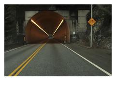 Yale Tunnel (1963) (Robert Drozda) Tags: britishcolumbia canada fraserrivercanyon yaletunnel transcanadahighway tunnel road rock mountain canyon ttw fbxtopdx2018 drozda