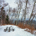 Campground at Temperance River State Park in Winter