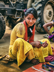 "Champa. (Prabhu B Doss) Tags: ""prabhu b doss"" ""kumbh mela"" kumbh 2019 prayagraj india ""incredible india"" fujifilm gfx gfx50s gf3264mm fujilove fujifeed ""travel photography"" ""street portraits woman girl nomads mela"