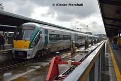 22052+22005 at Heuston, 9/5/19 (hurricanemk1c) Tags: railways railway train trains irish rail irishrail iarnród éireann iarnródéireann dublin heuston 2019 22000 rotem icr rok 3pce 22052 1730heustongalway