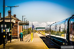Abergele&PensarnRailStation2019.05.11-1 (Robert Mann MA Photography) Tags: abergelepensarnrailstation conwy northwales train trains railway railways station stations 2019 summer 11thmay2019 transportforwales tfwrail class175 coradia class158 supersprinter class150 sprinter