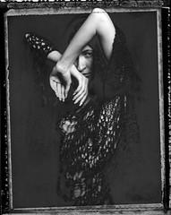 Roidweek Day 2 Photo 1 (denzzz) Tags: portrait polaroid55 expired blackwhite blackandwhite analogphotography filmphotography roidweek polaroidweek largeformat 4x5 instantphotography wista45dx fujinona 180mm skancheli roidweek2019