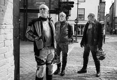 Facial Stubble (Bone Setter) Tags: bikers motorbike men street oldguys motorcyclists streetphotography ludlow harplane
